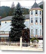Beautiful Country Inn In Washington Metal Print