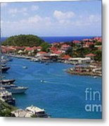 Beautiful Gustavia Metal Print