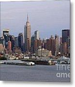 Beautiful Light On New York City Metal Print