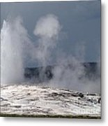 Beautiful Old Faithful Metal Print