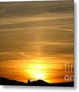 Beautiful Sunset 6.  2012 Metal Print