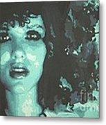 Beauty Blue Metal Print