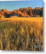 Beauty Of The Badlands Metal Print