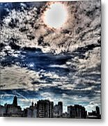 Beauty Of The Morning Sky Metal Print