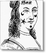 Beauty Spots, 17th Century Metal Print
