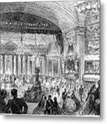 Beaux Arts Ball, 1861 Metal Print