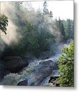 Beaver River Fog4 Metal Print