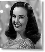 Because Of Him, Deanna Durbin, 1946 Metal Print