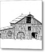 Becks Dairy Metal Print