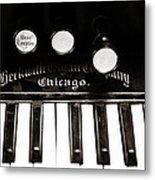 Beckwith Organ 2 Metal Print