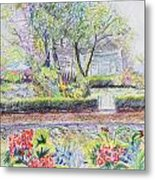 Bed And Breakfast View Metal Print