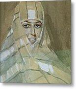 Bedouin Girl Metal Print