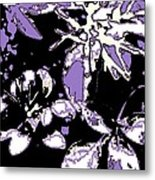 Bee Flowers 13 Metal Print