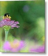 Bee Marks The Spot Metal Print