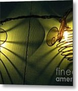 Bee Reflections Metal Print