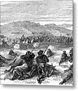 Beecher Island, 1868 Metal Print