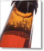 Beer Bottle Neck 2 F Metal Print