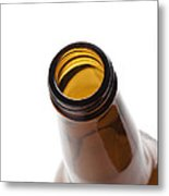 Beer Bottle Neck 3 Metal Print