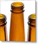 Beer Bottles 1 B Metal Print