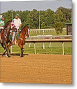 Before The Race Metal Print