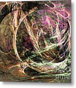 Before The Seizure - Abstract Art Metal Print