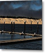 Before The Storm Metal Print by Bonnie Bruno