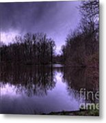 Before The Storm Metal Print by Paul Ward