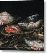 Beijeren: Fish Metal Print