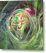 Being Bold - Abstract Art Metal Print