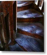 Bell Tower Steps II Metal Print by John  Bartosik