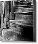 Bell Tower Steps1 Metal Print by John  Bartosik