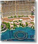 Bellagio - Impressions Metal Print