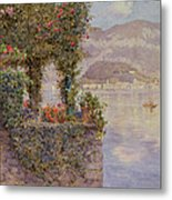 Bellagio From Tremezzo Metal Print