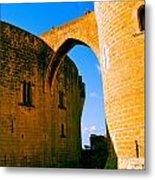 Bellver Castle Mallorca Metal Print