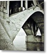 Below The Sinners Sail Metal Print