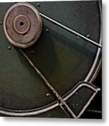 Belt Drive Metal Print by Odd Jeppesen