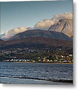 Ben Nevis And Loch Linnhe Panorama Metal Print