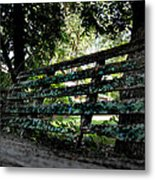 Benched Metal Print