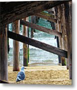 Beneath The Pier II Metal Print