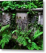Beneath This Stone  Metal Print