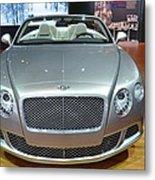 Bentley Starting Price Just Below 200 000 Metal Print