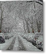 Berkeley Place Metal Print