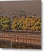 Berlin Cathedral ... Metal Print by Juergen Weiss