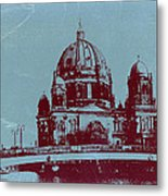 Berlin Cathedral Metal Print by Naxart Studio