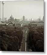 Berlin From The Victory Column Metal Print