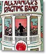 Berlin: Ragtime Band, 1911 Metal Print