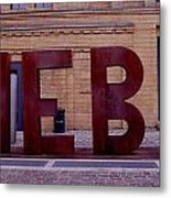 Berliner Love Metal Print