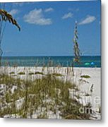 Best Beach Day Ever Metal Print