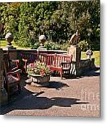 Best Benches Metal Print