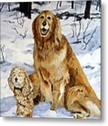 Best Friends Metal Print by Sandra Chase